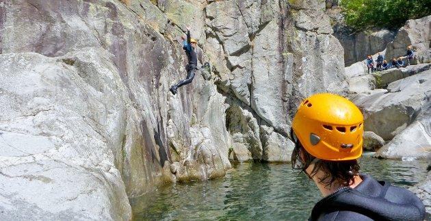 canyonning saut