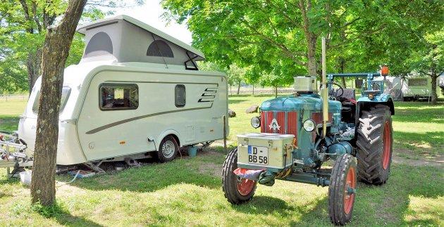 caravane tracteur